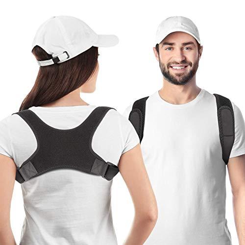 Haltungskorrektur Für MäNner Und Frauen, RückenstüTze Rücken Geradehalter Schultergurt Haltungstrainer,...
