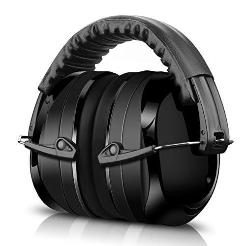 ECHTPower Kapselgehörschutz, Gehörschutz für Kinder und Erwachsene, 34dB Höchste NRR Kopfbügel Sicherheit...