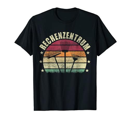 Rechenzentrum Gärtner Gärtnerei Garten Gießkanne Vintage T-Shirt