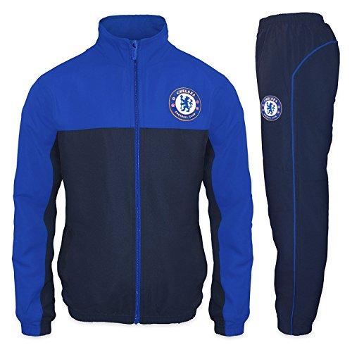 Chelsea FC - Herren Trainingsanzug - Jacke & Hose - Offizielles Merchandise - Geschenk für Fußballfans -...