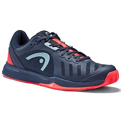 HEAD Herren Sprint Team 3.0 2021 Clay Men Tennis Shoe, blau/rot, 43 EU