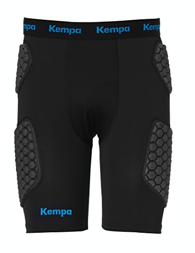 Kempa Erwachsene Protection Shorts Hosen, schwarz, XL
