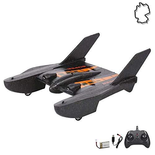 Himoto HSP RC ferngesteuertes Kampf-Jet mit Akku und 2.4GHz-Fernsteuerung, Flugzeug-Modell im Drohnen Design,...