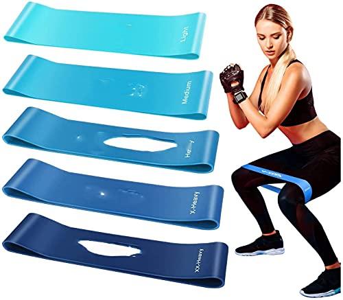 Fitnessbänder Theraband Fitness Fitnessband Gummi Set Original-100er Widerstandsbänder Krafttraining...