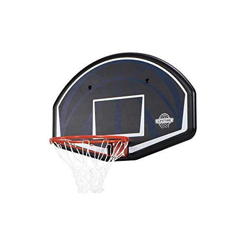 Lifetime Basketball Backboard Dallas Wandmontage 44 Zoll Basketballkorb mit Netz Basketball Backboard für...