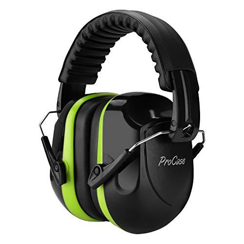 ProCase Lärmschutz Schallschutz Kopfhörer mit Rauschunterdruck, Professionell faltbar Kapselgehörschutz...