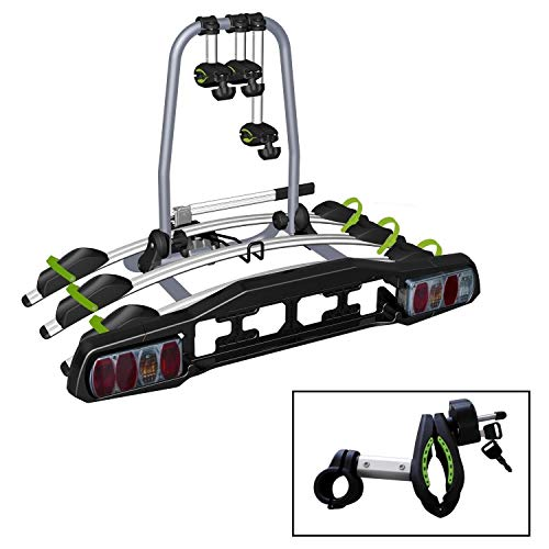 VDP Heckträger TBA3 Fahrradträger abschließbar 3 Räder klappbar für AHK