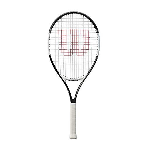 Wilson, Jugend-Tennisschläger, Roger Federer 26, Schwarz/Rot, Für Jugendliche mit einer Körpergröße von...