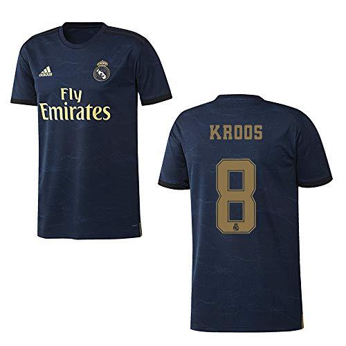 adidas REAL Madrid Trikot Away Herren 2020 - KROOS 8, Größe:L