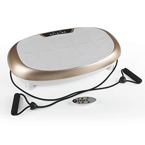 VITALmaxx Vibrationstrainer mit 99 Vibrationsstufen und 10 Programmen und LCD-Display | Ganzkörpertraining zu...