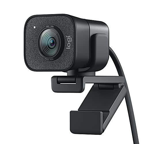 Logitech StreamCam - Livestream-Webcam für Youtube und Twitch, Full HD 1080p, 60 FPS, USB-C Anschluss,...