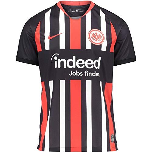 Nike Herren SGE Breathe Stadium Heim Trikot Teamtrikot, Black/University Red, XL