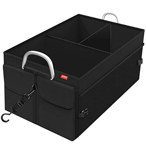 MORROLS Kofferraum Organizer, Kofferraumtasche Auto Organizer Faltbar Wasserfeste Langlebig mit Spanngurten,...