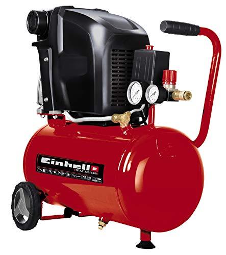 Einhell Kompressor TE-AC 230/24/8 (1500 W, max. 8 bar, 24 l-Tank, 230 L/min Ansaugleistung, 2850 (1/min),...