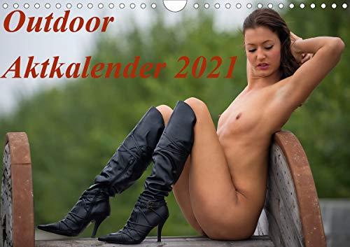 Outdoor Aktkalender 2021 (Wandkalender 2021 DIN A4 quer)