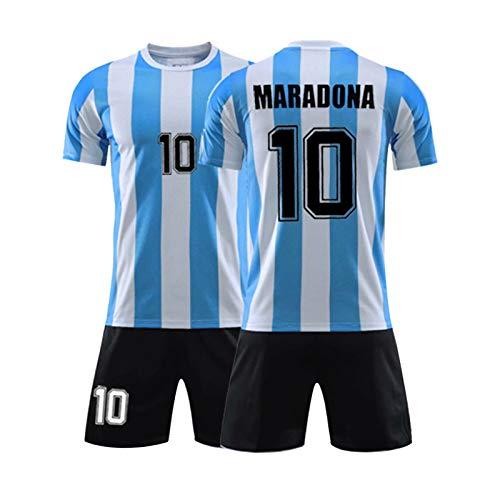 Herren-Fußballtrikot # 10 Dǐěgǒ Ǎrmǎndǒ Mǎrǎdǒnǎ / 1986 Argentina World Cup Legend Trikot,...
