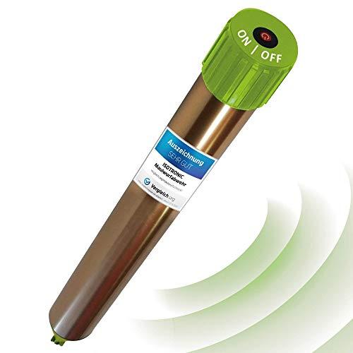 ISOTRONIC Maulwurfabwehr Vibrasonic mit ON/Off Schalter NEU mit Vibrationsmotor batteriebetrieben...