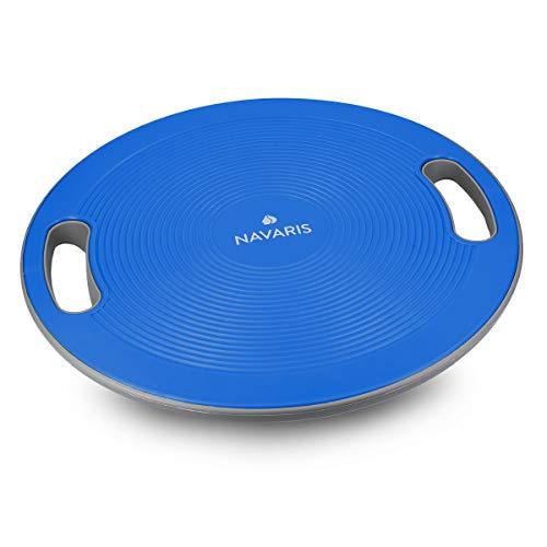 Navaris Therapiekreisel Balance Board mit Griff - Therapie Kreisel Stepper - Fitness Reha Balance Kraft...
