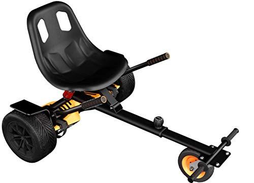Wheelheels Premium Hovercart, Gefedertes Hoverkart für Hoverboards, Self-Balance Scooter, Balance Scooter