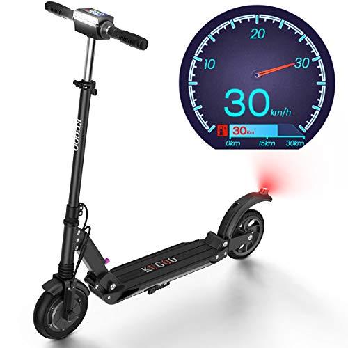 urbetter Elektro Scooter, 350W Motor Geschwindigkeit 30km/h, 30km Laufleistung Faltbarer E Scooter für...