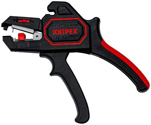 KNIPEX 12 62 180 Automatische Abisolierzange 180 mm