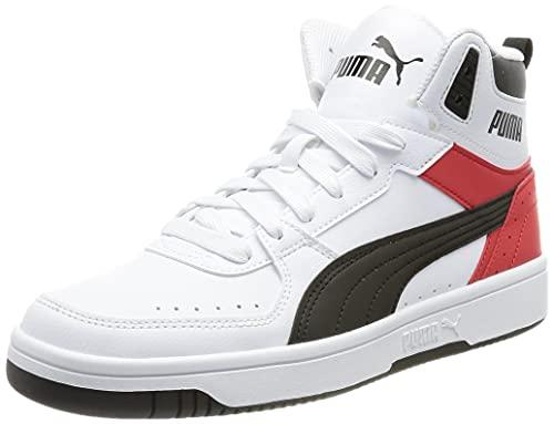 PUMA Unisex Rebound Joy Sneaker, weiß, 43 EU
