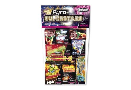 Weco Jugendfeuerwerk 'Pyro Superstars'