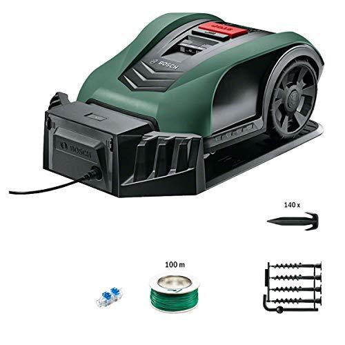 Bosch Roboter Rasenmäher Indego S+ 350 (mit App-Funktion, 19 cm Schnittbreite, für Rasenflächen bis 350...
