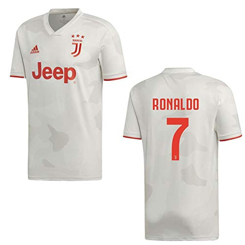 adidas Fußball Juventus Turin FC Away Trikot 2019 2020 Auswärtstrikot Kinder Ronaldo 7 Gr 176