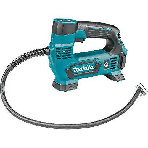 Makita MP100DZ Kompressor 12V max. (ohne Akku, ohne Ladegrt) 8,3 bar, 12 V, Blau, Silber