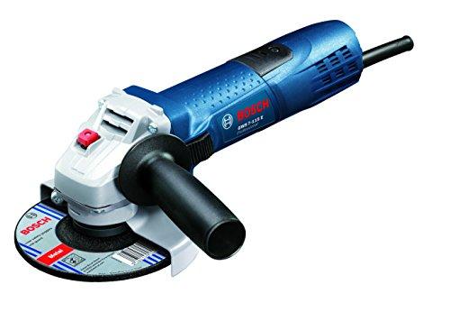 Bosch Professional Winkelschleifer GWS 7-115 E (ScheibenØ 115 mm, 720 Watt, mit Wiederanlaufschutz, 6-stufige...