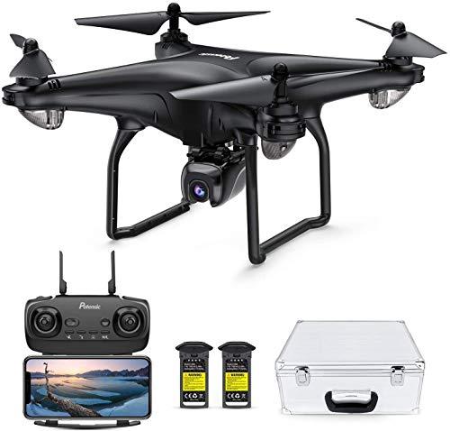 Potensic D58 Drohne mit 4K Kamera für Erwachsene, 5G WiFi HD Live Video, GPS Auto Return, RC Quadcopter für...