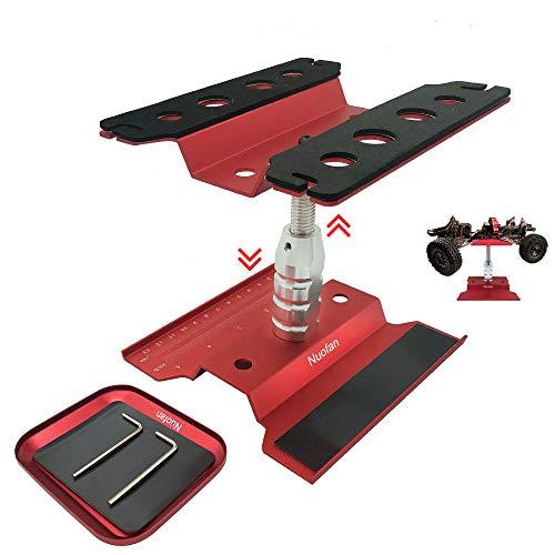 RC Car Work Stand Aluminium Reparatur Workstation mit Schraubablage für 1/8 1/10 1/12 1/16 Traxxas Axial...