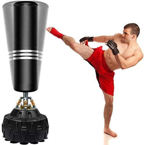 Boxsack Standboxsäcke Trainingsgeräte Erwachsene Freistehender Standboxsack MMA Boxpartner Boxing Trainer...