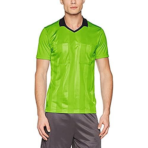 adidas Herren REF18 JSY T-Shirt, semi solar Green, 2XL