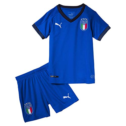 PUMA Herren FIGC Italia Home Minikit Packs/Kits, Team Power Blue-Peacoat, 104