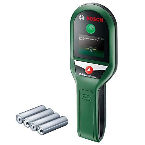 Bosch Ortungsgerät UniversalDetect (für Metall, spannungsführende Kabel und Holzunterkonstruktionen in...