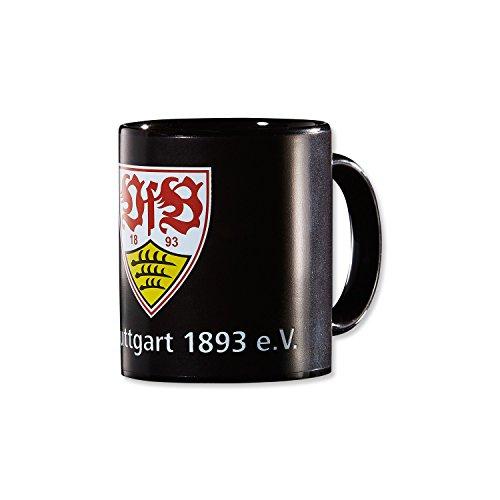 VfB Stuttgart ZAUBERTASSE 0,33 l (wechselt die Farbe von Schwarz in das Stadion Design wenn sie mit heißer...