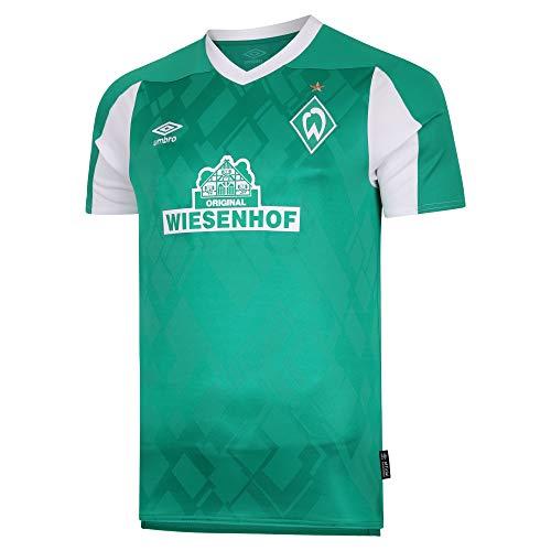 UMBRO Herren Werder Bremen 20-21 Heim Trikot grün L