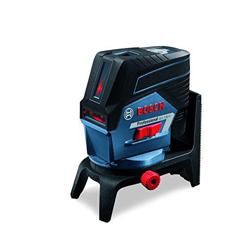 Bosch Professional Linienlaser GCL 2-50 C (roter Laser, Innenbereich, mit App-Funktion und Halterung, Stativ...