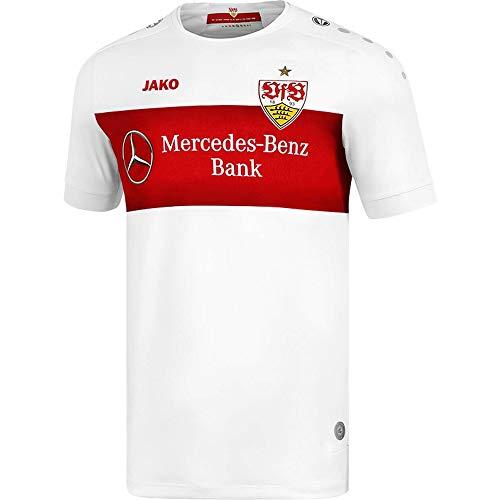 JAKO Herren VfB Stuttgart Home Trikot, weiß, M