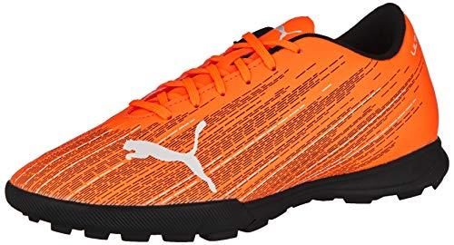 PUMA Herren Ultra 4.1 TT Fußballschuh, Shocking Orange Black, 39 EU