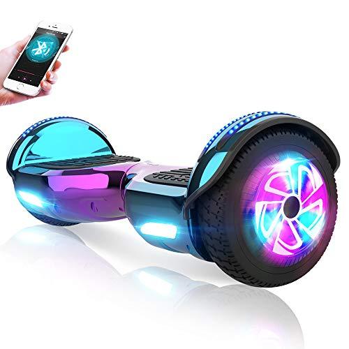 M MEGAWHEELS Hoverboards 6,5' Elektrisch Selbstausgleich Roller Tafel Eingebaut Bluetooth Lautsprecher,...