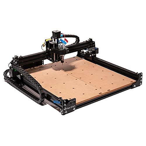 FoxAlien Masuter Desktop CNC Fräsmaschine/Graviermaschine, 3-Achsen Gravurfräsmaschine für Holzstich, Acryl...