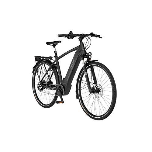FISCHER Herren - Trekking E-Bike VIATOR 6.0i, Elektrofahrrad, Graphit metallic matt, 28 Zoll, RH 55 cm, Brose...