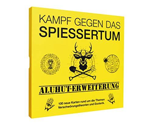Kampf gegen das Spiessertum - Aluhut Erweiterung mit 100 neuen Spielkarten. Die 2. Erweiterung des fiesen...