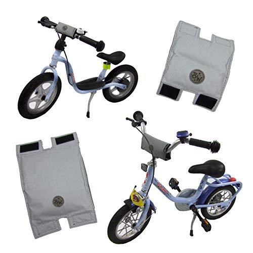 BAMBINIWELT Lenkerpolster, Lenkerschutz für Roller, Scooter, Fahrrad, Laufrad, Dreirad, komplett...