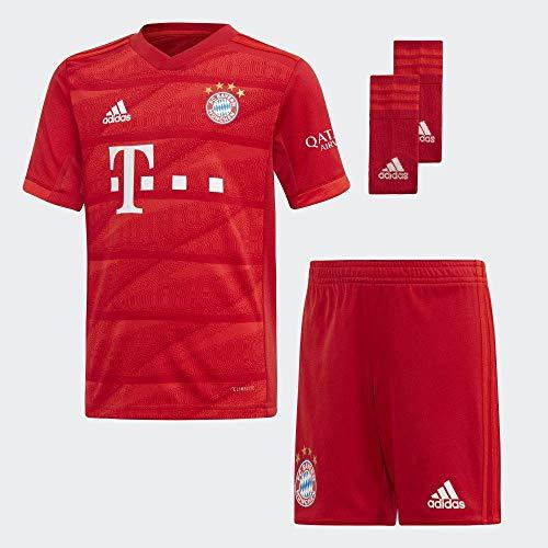 adidas FCB H Mini Equipment, Unisex Kinder L Rot