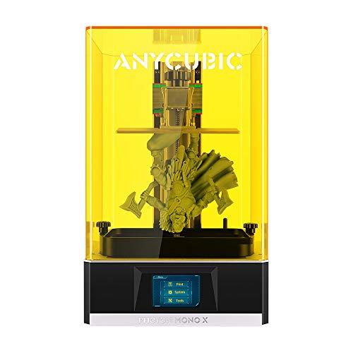 ANYCUBIC 3D-Drucker Photon Mono X UV-lichthärtender LCD-SLA-Harz-3D-Drucker mit 3840 * 2400...