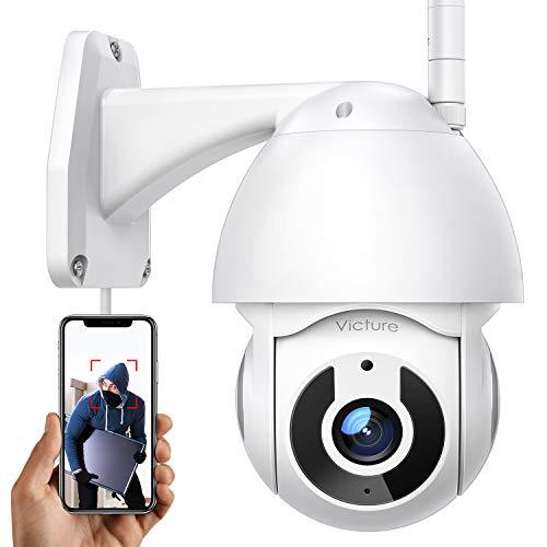Überwachungskamera Aussen Victure 2.4G WLAN IP Kamera mit 1080P Nachtsicht für die Sicherheit zu Hause IP66...
